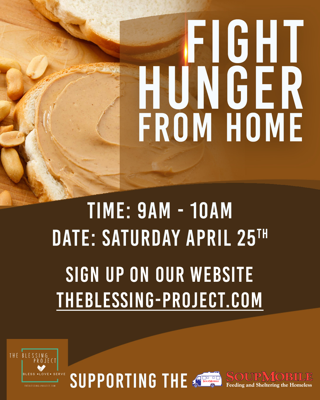 Fight Hunger From Home